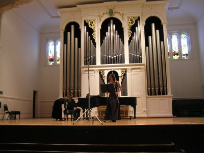 Erin's recital