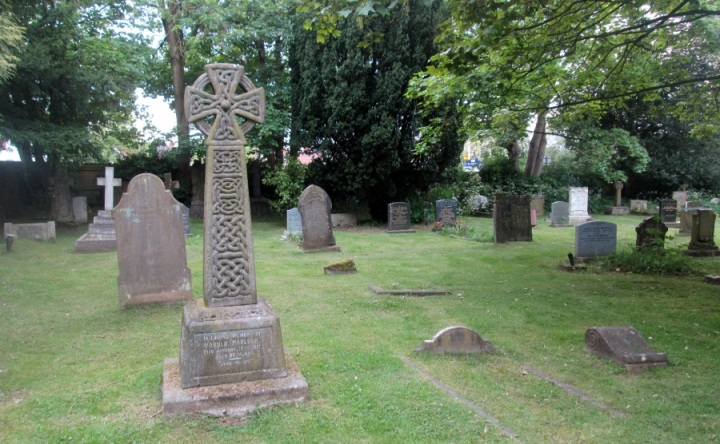 A Celtic cross in Birmingham, England
