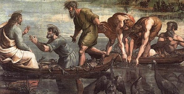 Raphael_Draught_of_Fishes 590x300