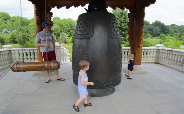 Korean bell at Meadowlark Garden