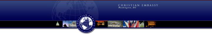 Christian Embassy banner